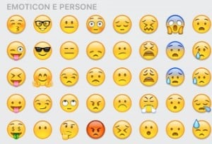 emoticon whatsapp faccine