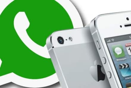 Chiamate vocali gratuite WhatsApp su iPhone