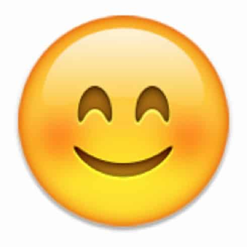 emoticon whatsapp faccina