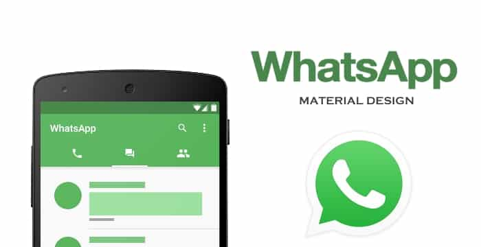 Scaricare WhatsApp in Material Design da Google Play
