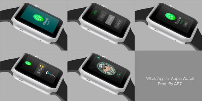 whtsapp su apple watch
