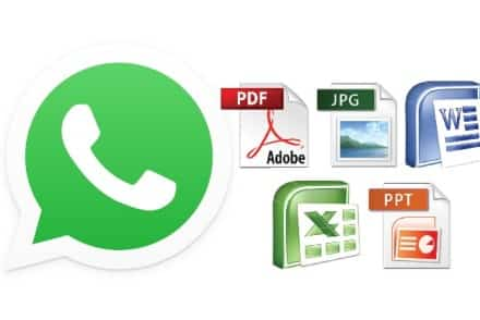 Come inviare documenti con WhatsApp