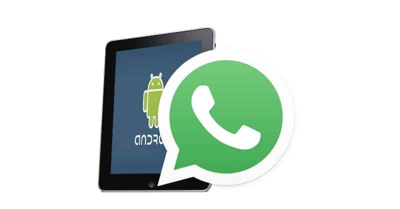 WhatsApp Messenger per tablet Android