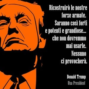 frase donald trump con immagine