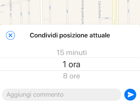 whatsapp live location
