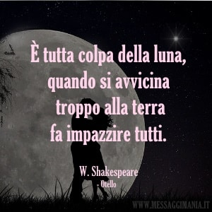 frase Otello William Shakespeare