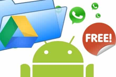 WhatsApp backup illimitato Android